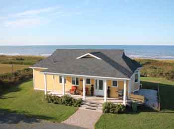 PEI Summer Cottage Rentals, Beach Houses, Executive Homes